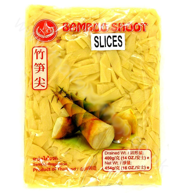 Thai Bamboo Shoot Slices (vacuum pack) 454g by XO