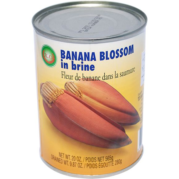 Thai banana blossom in brine (565g can) by XO