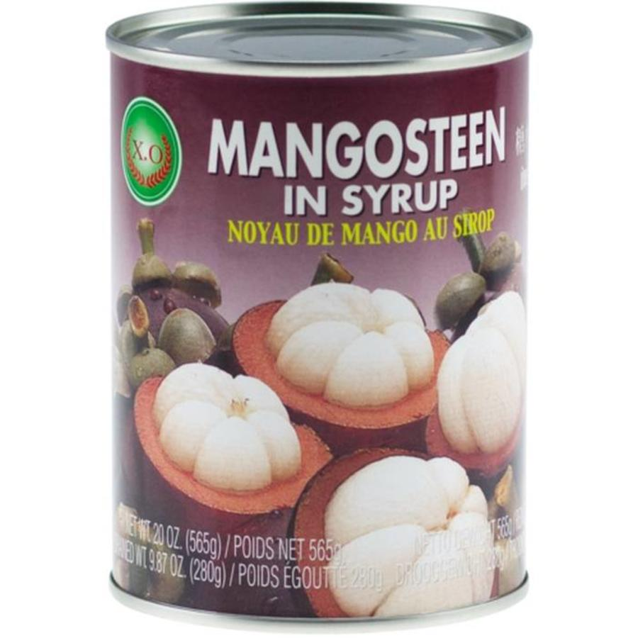 Thai mangosteen in syrup (565g can) by XO