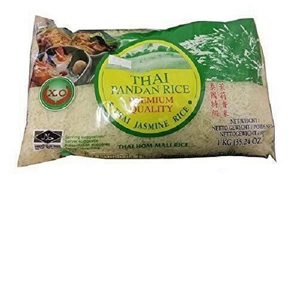 Thai jasmine rice (pandan) 1kg by XO