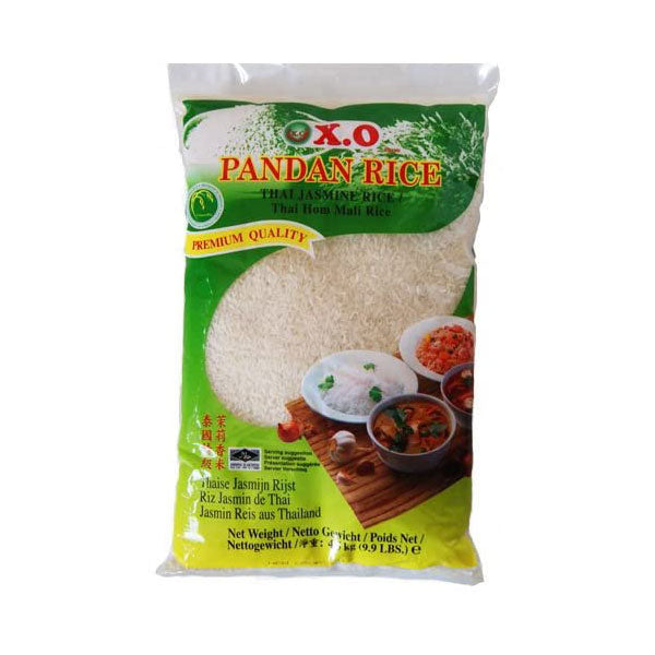 Thai jasmine rice (pandan) 4.5kg by XO
