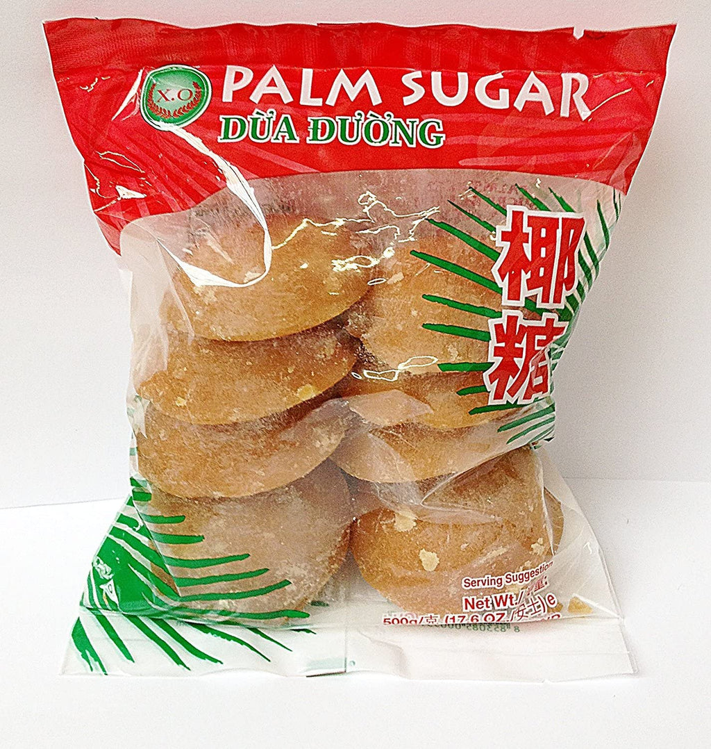 Thai pure natural palm sugar blocks 500g by XO