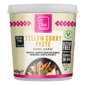 Thai yellow curry paste (gang garee) 400g by Thai Taste