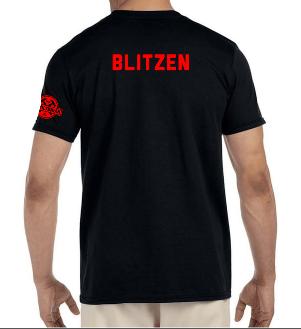 Holiday tee, Christmas edition - BLITZEN