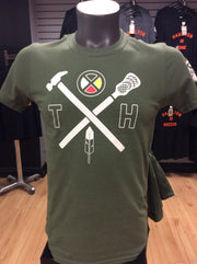 True Hamiltonian Indigenous Collection Lacrosse Tee