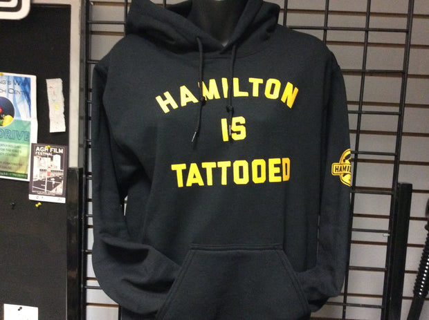 Hamilton is Tattooed Hoodie