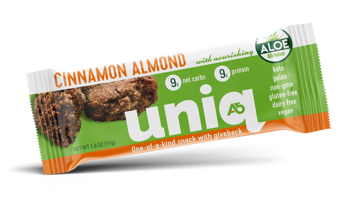 A5 Uniq Cinnamon Almond Bar - 12/Box