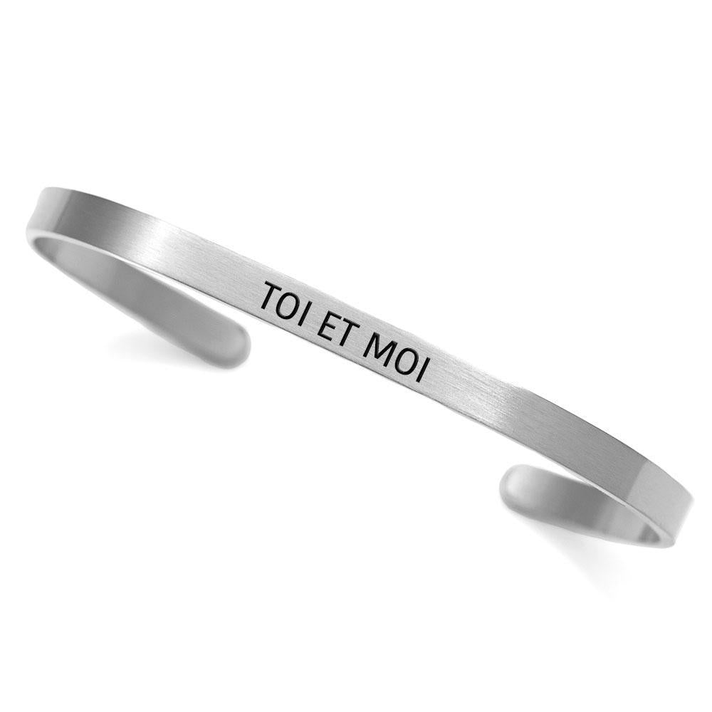 """Toi et Moi"" cuff - You and Me"