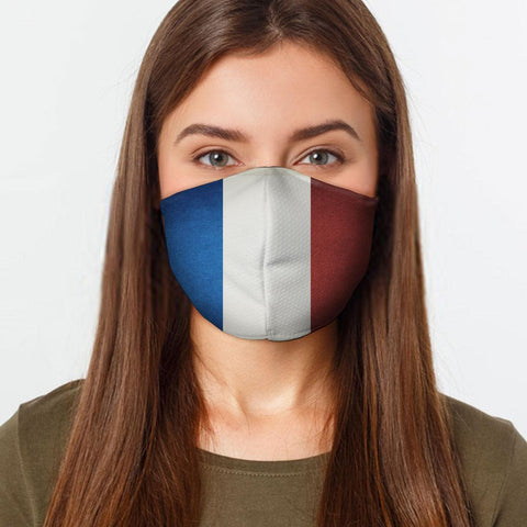 French Flag Face Cover