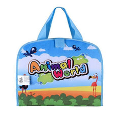 Cartoon Animal Baby Water Doodle Drawing Bag