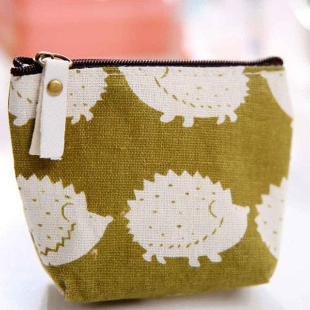 Zipper Purse