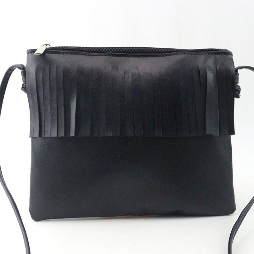 Woman fashionable leather handbags