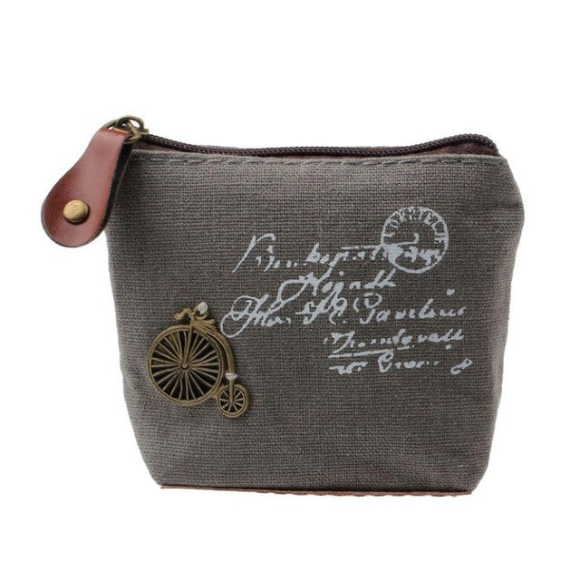 Canvas Classic Retro Small Purse