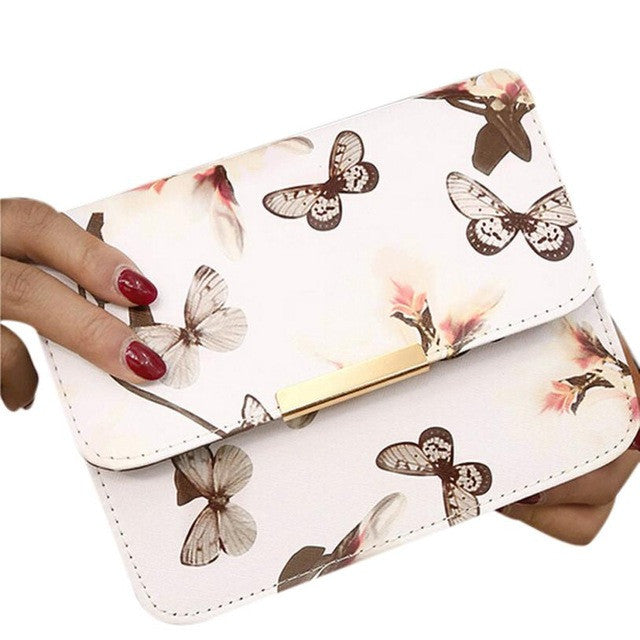 Women Floral leather bag