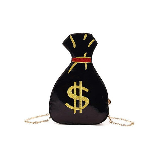 Dollar Pattern Women Shoulder Bags