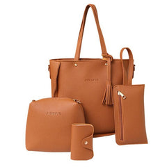 4 PCS women bag