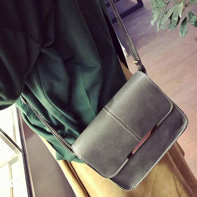 Leather Shoulder/ Crossbody Bag