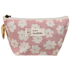 Cotton Zipper Makeup bag