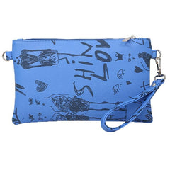 Long wallets with clip Graffiti