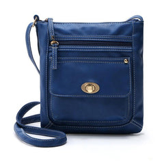 Leather Satchel CrossBody Bag