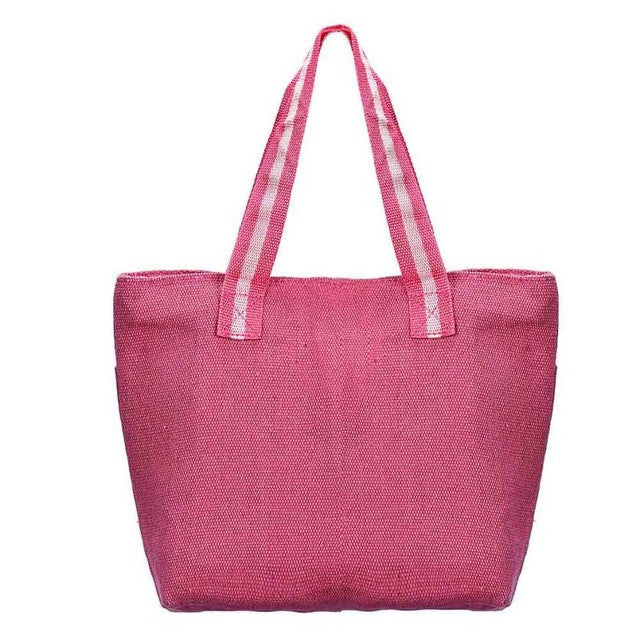 Chinese Style Two Strap Casual Tote