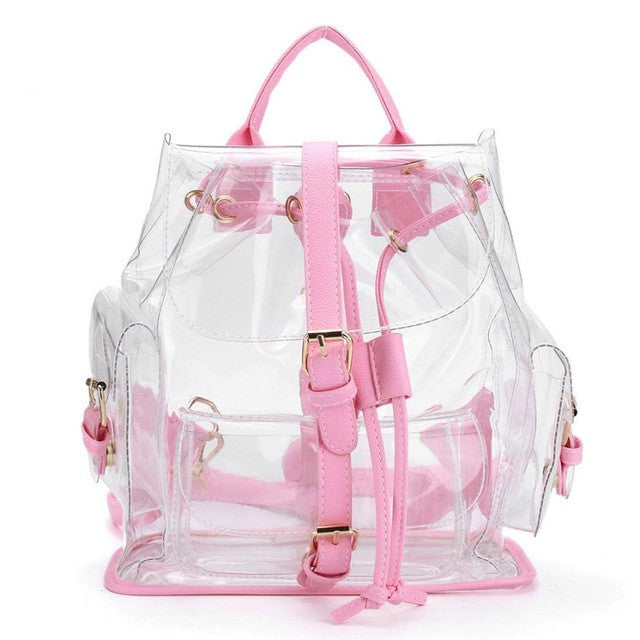 Clear Plastic See Through Backpack