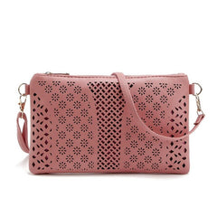Hollow Satchel Cross Body Bag