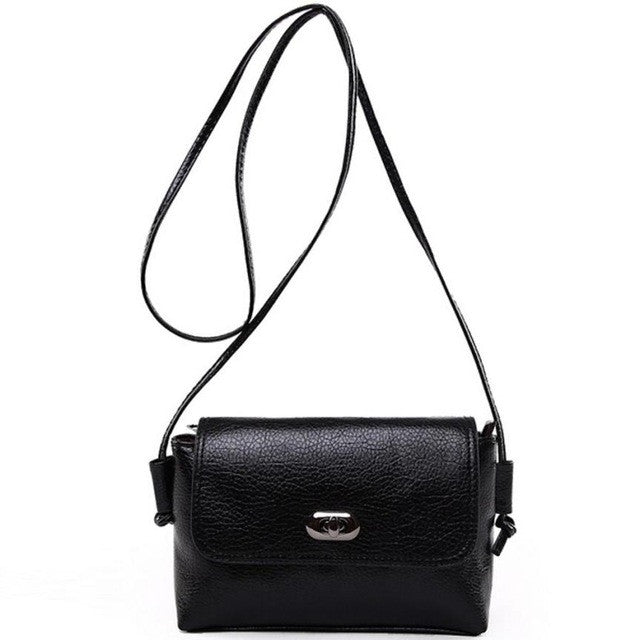 Leather Solid Handbag