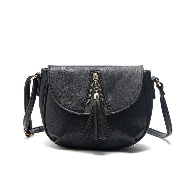 Leather Satchel Shoulder Bag