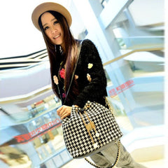 Small Houndstooth Shoulder Bags