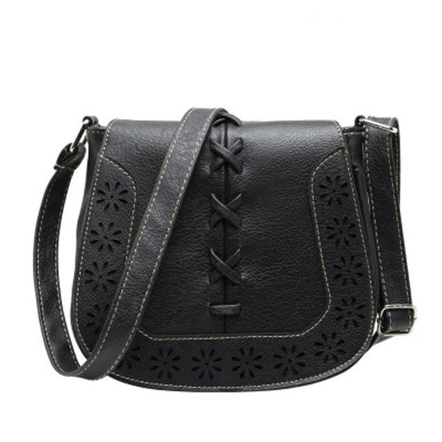 Hollow Out casual Black Brown Small bag