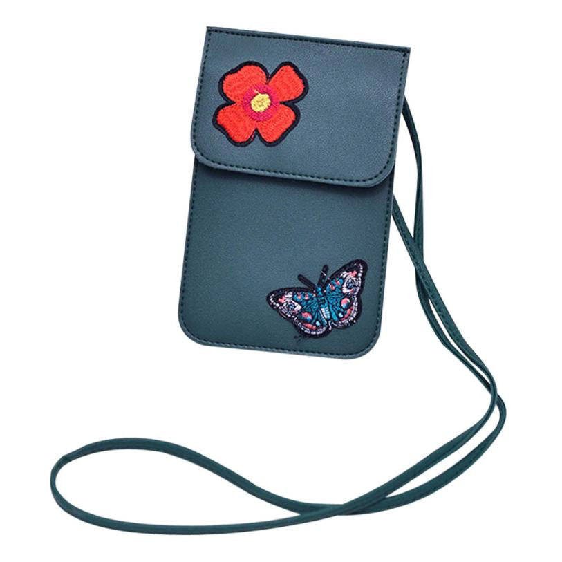 Flowers printing small Shoulder Bag