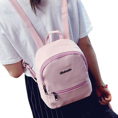 Women Black Backpack