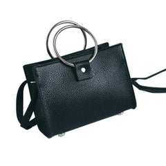 Ladies Shoulder Bags with RIng Handles