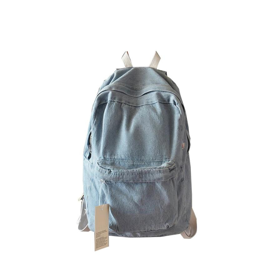 Denim Casual Travel Bag