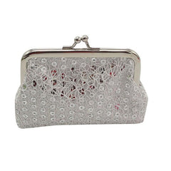 12X9cm Sequin Wallet Card Holder