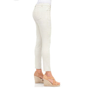 wonderjeans Ankle Slit White Sea Shell New Vichy