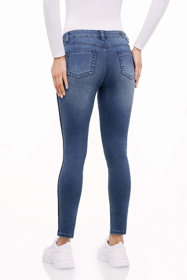 wonderjeans Galon Stone Blue Super Wash