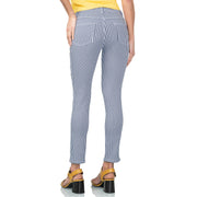 wonderjeans Ankle Stone Blue White Vichy Check