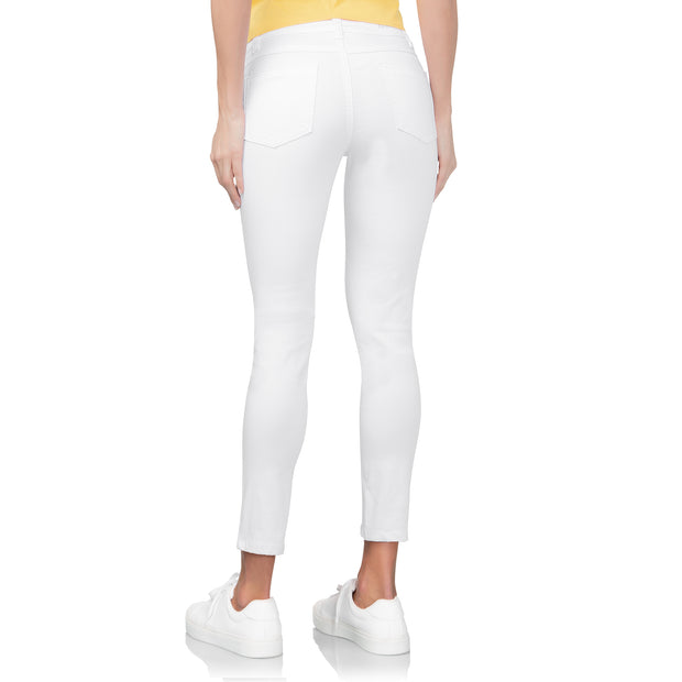 wonderjeans Ankle White
