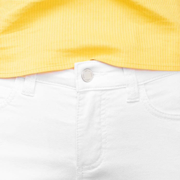 wonderjeans white ankle jeans product number WA7010034 pocket detal close up