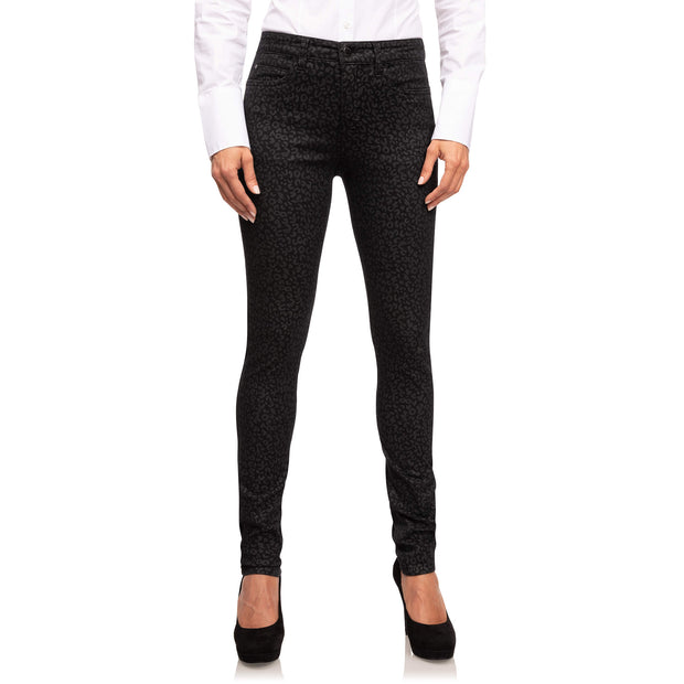 wonderjeans Skinny Black Grey Leo