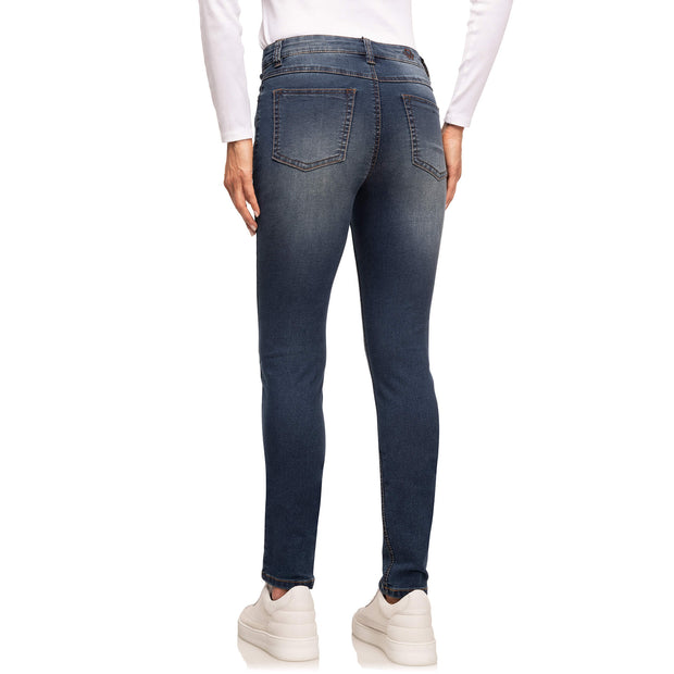 wonderjeans Skinny Stone Blue Super Wash
