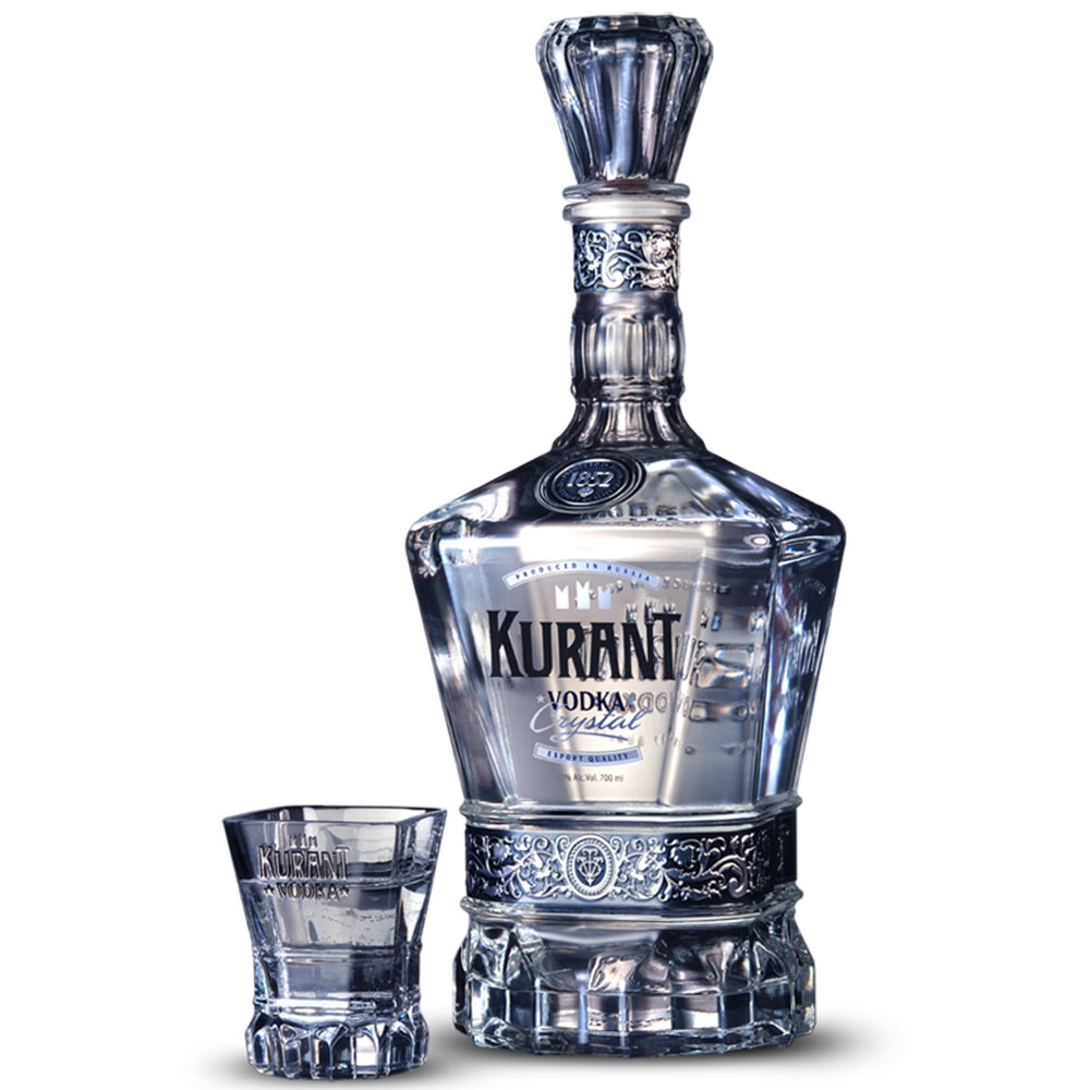1852 Kurant Vodka Crystal Organic - (750ml Bottle)