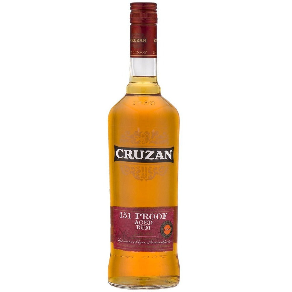 Cruzan 151 Proof Rum 750ml Bottle