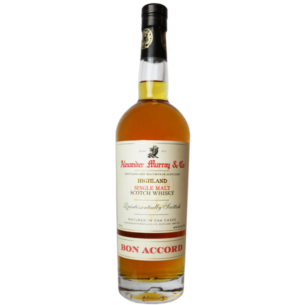 Alexander Murray & Co Bon Accord Highland Single Malt Scotch Whisky (750ml Bottle)