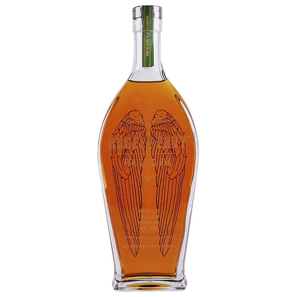 Angels Envy Rye Finished In Caribbean Rum Casks (750ml Bottle)