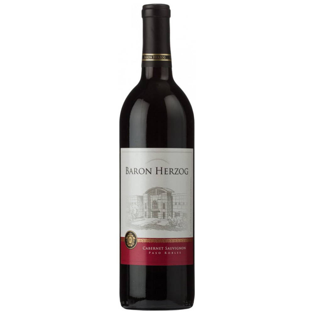 Baron Herzog Cabernet Sauvignon 2017 Kosher Red Wine - (750ml)