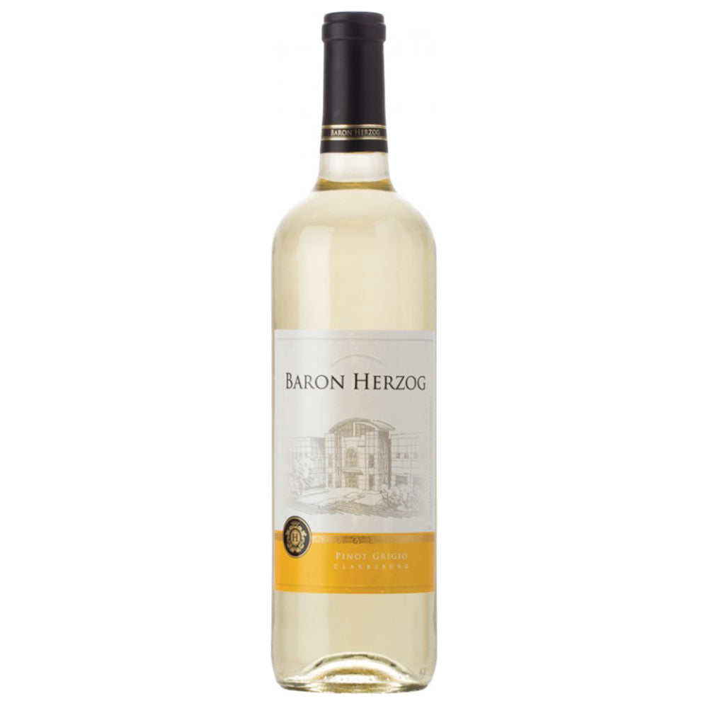 Baron Herzog Pinot Grigio 2018 Kosher White Wine -  (750ml)