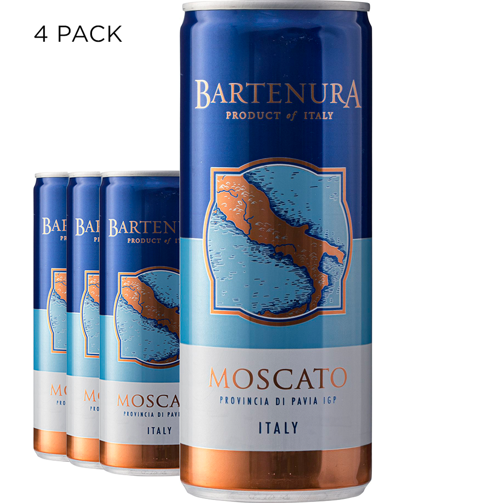 Bartenura Moscato Cans - (4 Pack)